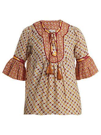 À Priya En Imprimé Coton Soie Talitha Graphique Et Haut Ow1XqX