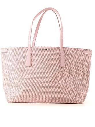 Bag Tote Lona One Plástica Rosa Polvo Zanellato Bolso 2017 Size fOExnwq5RP