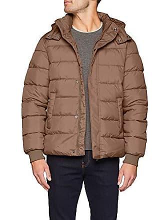Jacket 50 Homme taille Benetton Blouson 04b Fabricant Large beige PxgnpqnCw