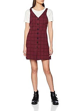 5981070 Del talla 44 Poppy Fabricante Vestido Pattern 16 69 Look Rojo Para Mujer New red 7P4EHwqW