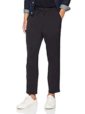 Pantaloni uomo nero Sisley Schwarz da W39 901 pantaloni npvz1