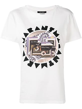 Marant Grafisch Met Wit shirt T Isabel Logo fwdq6f
