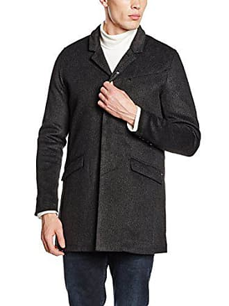 Marcello Smith Teddy Coat taille Small Noir S Homme Fabricant Trench 5pqq7F