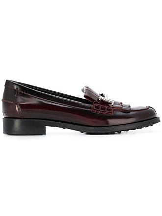 t Loafers Tod's Rose Fringed Double wfnqxTX5OU