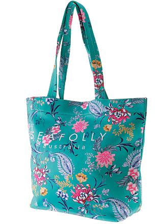 In Seafolly Garden Damen Water Strandtasche Evergreen HxgqwTIOx