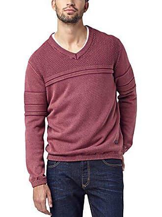 spice 808 rosso uomo autentici V grande maglione Pullover scollo Pioneer da a jeans in con rosso 6agq7O