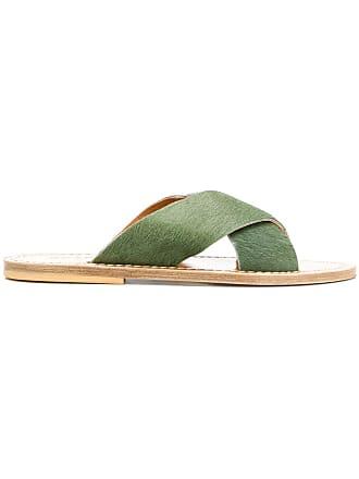Solange Sandales à Brides Sandals CroiséesVert 3AR5jL4