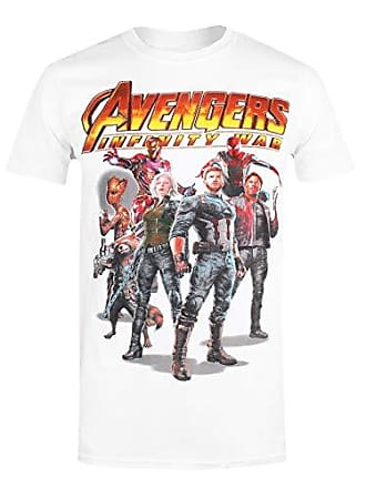 Marvel Fabricant The shirt Avengers T infinity taille Blanc small Group Homme T Du rpwgqrAn