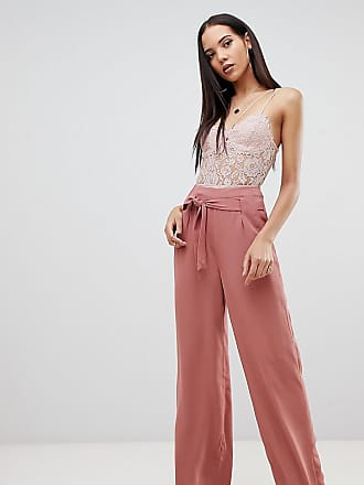 Pantalones Cintura Tall Pernera Color De Moca Missguided Exclusivos Con La Ancha Lazada A 15x6x