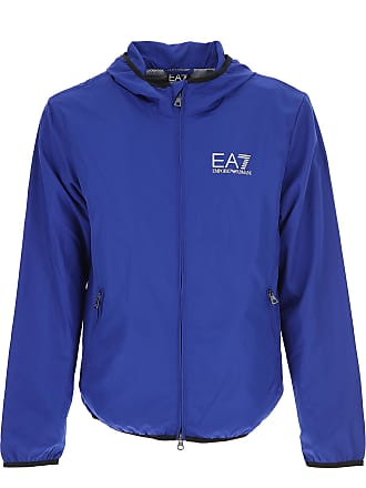 Emporio Sale Armani Mazarine Outlet In On Jacket 2017 L Polyester For Blue Men B6rBFw