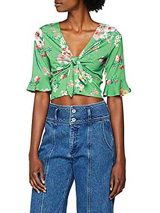 Femme Look green Pattern shirt 39 Vert Floral New 38 T Tie qXPwnfaaF
