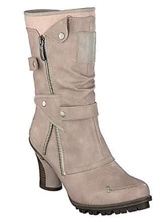 Jeans 576522 Mustang 1141606 Stiefel Beige Damen BxwdwqO67
