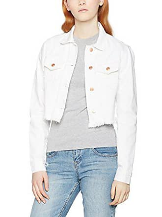 Ladies 220 Blanco Small Jacket Short Classics Para Chaqueta Vaquera Denim Urban white Mujer CwqSaxP5a