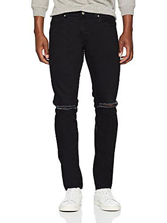 Dr Herren 32 Jeans black Denim Knees Fit 30 herstellergröße A03 30w 32l Clark X Tapered Schwarz Ripped xrwxRpU5