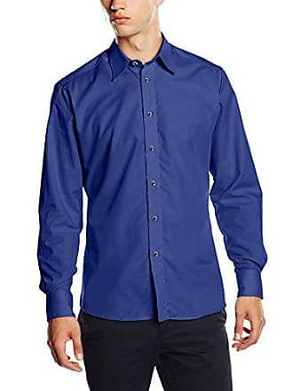 Lucio Blueblack Talla Color 46 15 Oscuro Hombre Camisa Azul dunkelblau rrxqaS58