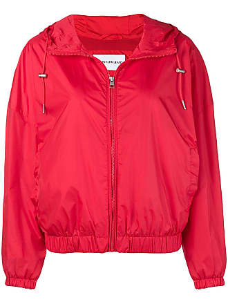 Klein Hooded Rouge Print Jeans Jacket Calvin Logo vqZ8xOw