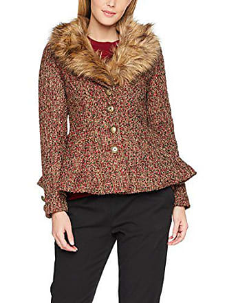 Joe Multi Collar Fabulously Blouson Coat Browns Fur a Multicolore Femme BfTxSUB4wq