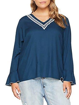 Teal Blouse Mujer Azul Wing Para 48 k Junarose Blue Jrlinette Blusa Ls gAqYvwR