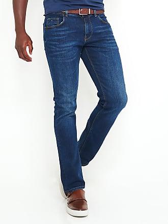 Stretch Bleu Hilfiger Denton Tommy Blue Fit Straight Jeans Clean SzGqMVUp