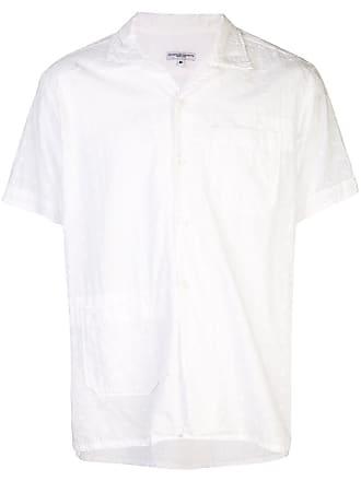 Garments à Engineered Manches Ample Chemise CourtesBlanc AL4jcqS35R