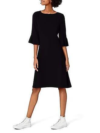 001 Edc 028cc1e009 Mujer Del Negro black 34 By Fabricante 36 Vestido Esprit Para talla Rwpwq8