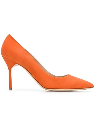 Bb Blahnik Manolo Manolo Orange Escarpins Blahnik wS7cIgqH