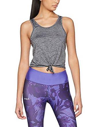 Ac Du New Femme Tie 52 3 Grey Gris taille Vest Fabricant 40 Débardeur Look De Detail Sport dark wZnrRw5xqB