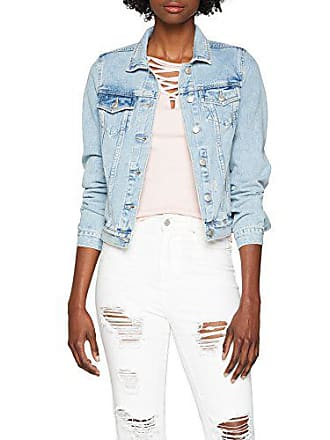Jacket denim Tally For Blu Denim Blue 40 Ehbl Women Weijl Sjadechloe PSUnA0S