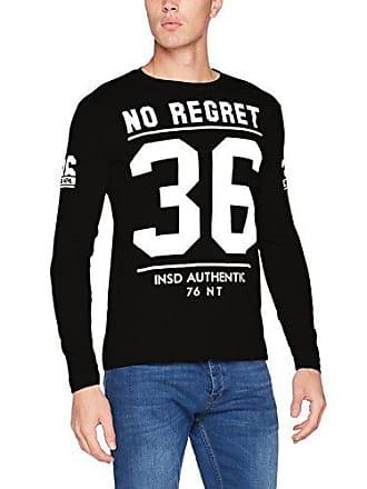 Medium 4epln03 T produttore Shirt Mens nero Taglia m Inside wOqpH16