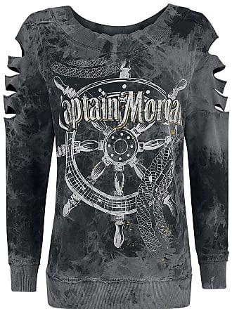 Captain Ruder Sweatshirts Gris Noir Morgan pvpqY