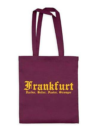 HarderBetterFasterStronger bwt00006 21 Frankfurt 20drpt15 X 38 Textil puntos Baumwolltasche BurgundyMotiv Dress Gelb42 Cm 6gyYbf7vIm