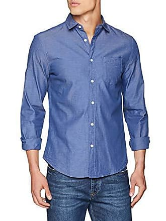 Azul Azules l Del gama Camisa Org Casual Organica 12 tamaño Springfield Fabricante Hombre Large TgSFXWPnSc