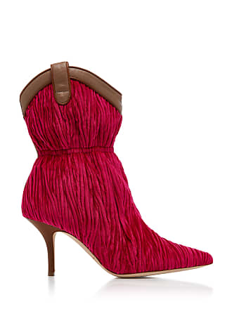 trimmed Souliers Velvet Daisy Boots Leather Malone AzSqc