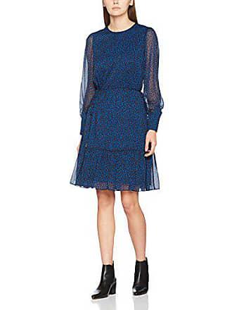 L Bennett 793 Multicolore Dakota k Blue Femme Robe pri Animal rv5g7xr