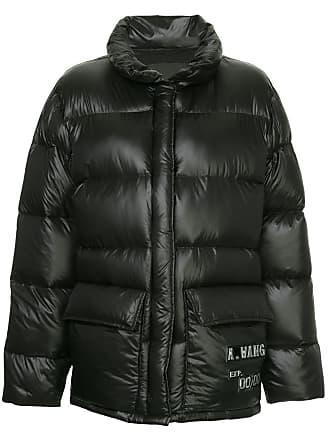 Wang Alexander Coat Puffer Oversized Noir 1UTHHq
