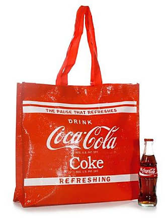 Coca 38x35cm Tasche Shopper Rot Cola Ware Shopping tüte rxthQdCs