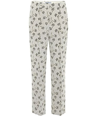 Raccourci En Pantalon Soie Prada Imprimée 8q5Uxw4