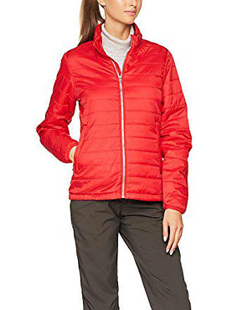 Ladies James Padded amp; Blouson Nicholson Rot Femme red Jacket pAHwBFEx