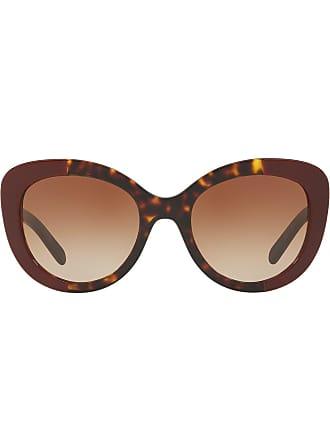 Rotondi Burberry Occhiali Di Colore Sole Sunglasses Rosso Da wagq7az