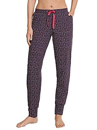 Para 40 Rojo Relax Mix amp; 530 De Pantalones brombeere Mujer Jerseyhose Lang Pijama Schiesser 8xpwnOO