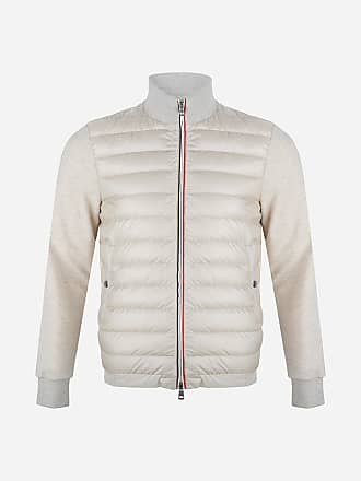 Off Slim Jack fit white Gewatteerd Moncler O70aYx