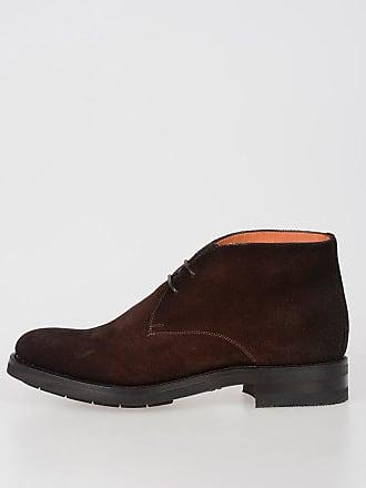 Suede Size 10 Shoes Santoni Leather 5 TpSqH