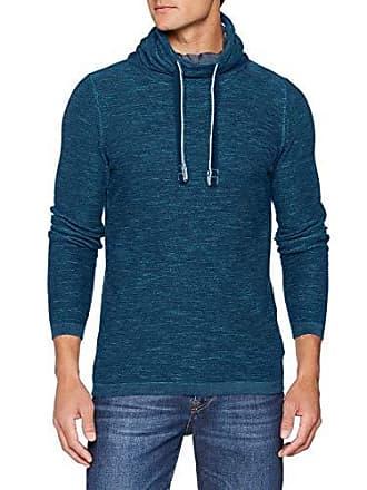 dark Azul Kragen Hombre large Tailor 7870 Petrol Xx Mit Tom Para Suéter Pullover Großem 8IwnzT