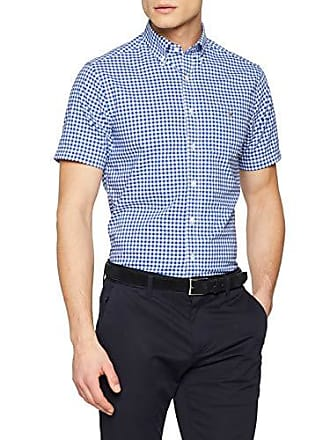 Blu Large Broadcloth Blue Men Gant Bd 436 Gingham college Ss For Reg Shirt The zxO6Fnq1a6