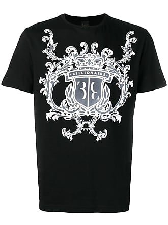 Di T Logo Nero Colore Shirt Con Boys Billionaire Club SZEAWqwY