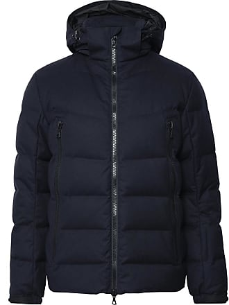 Ski Officine Hooded Blue Generale Midnight Jacket Quilted Twill blend Wool Down Zqc06B4wc