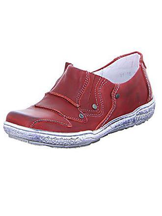 Slipper red 2047 1760316031 Rot Leder Damen Kristofer FUAEqwxfq