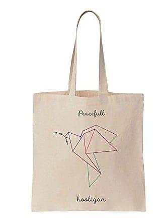 Bag Peace Tote Cotton Dove Peacefull Art Hooligan Geometric Finest Prints Canvas 1RZwFqF