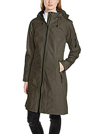 Mujer Rain37l army Para Chaqueta 410 Impermeable Verde Ilse 42 Jacobsen pBq5wX