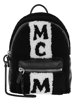 Stripe Shear Backpack Mcm Small Black Schwarz Rucksack BFqU5UP